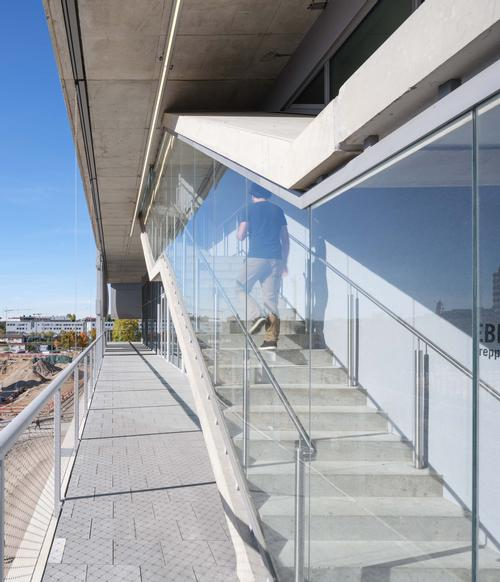 Circulation was placed on the outside of the building to allow the interiors to be easily reconfigured / MVRDV