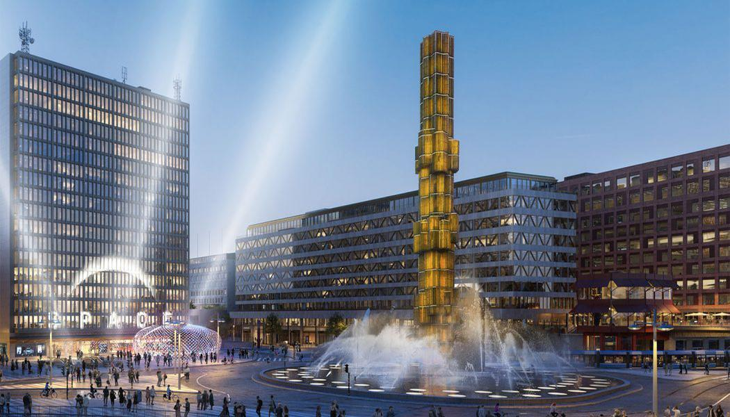 Designed by DAP Group, the gaming hub will be located on Sergels Torg – a public square in the heart of Stockholm