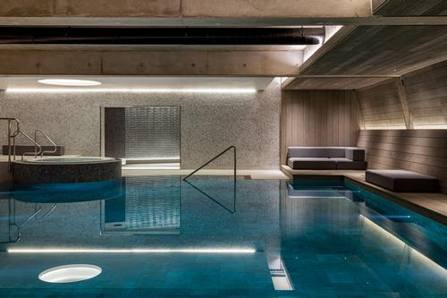 The spa and fitness centre has a 12m (39ft) pool / Radisson