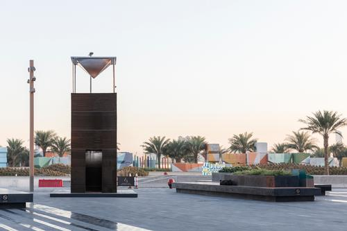 The installation was a response to an open call out for Dubai Design Week
