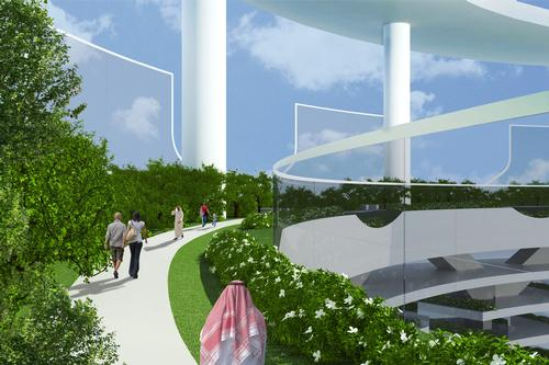 The concept designed to encourage healthier lifestyles / Luca Curci Architects