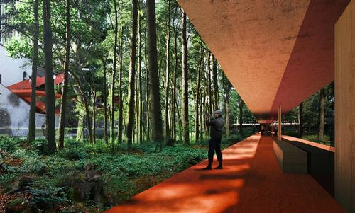 One-third of the district will become home to a Micro Forest / OMA