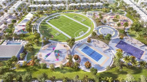 A sports village will provide opportunities for recreation / Emaar