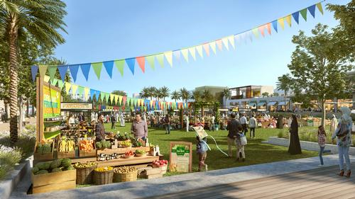 The development will be set in a ribbon of green landscape / Emaar