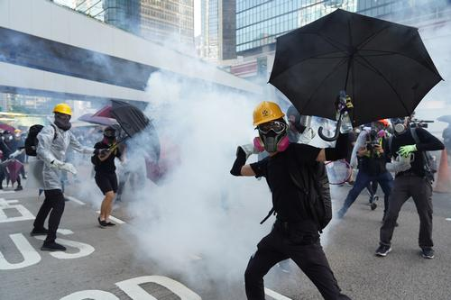 Clashes between pro-democracy protesters and police have been taking place in Hong Kong for much of 2019 / Shutterstock