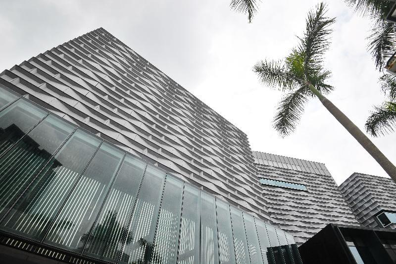 The renovation was carried out by Hong Kong's Architectural Services Department