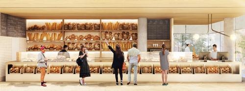 Large glazed expanses will provide visibility into the units / Studio Arthur Casas