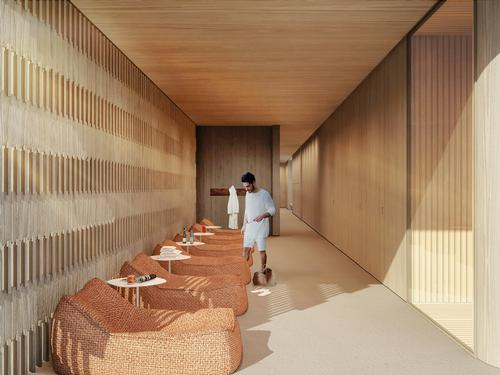 There will be places for tower occupants to relax / Studio Arthur Casas