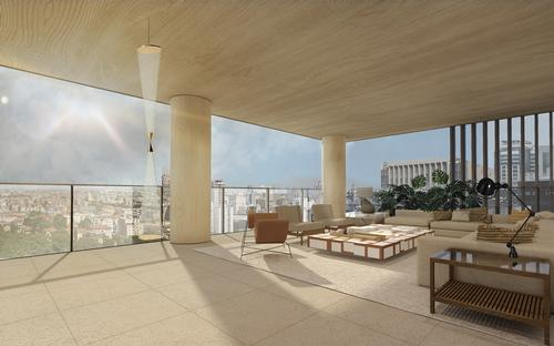 the tower will provide expansive views for occupants / Studio Arthur Casas