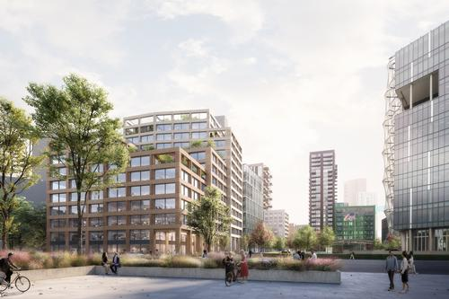 The 13-storey building will have 330 cycle spaces and a cycle workshop to encourage sustainable travel