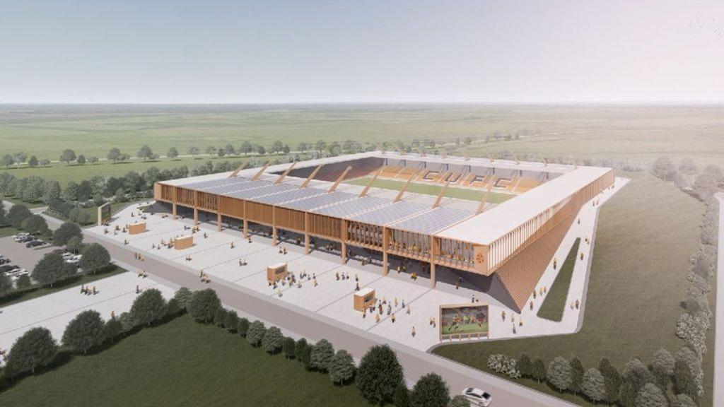 The stadium will host concerts, conferences and extended community activities, as well as football matches / Cambridge United FC / KSS