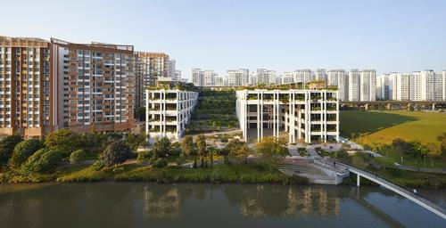 Oasis Terraces by Serie + Multiply Architects / Hufton + Crow