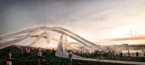 MVRDV is working with local studio NOW Architects / MVRDV