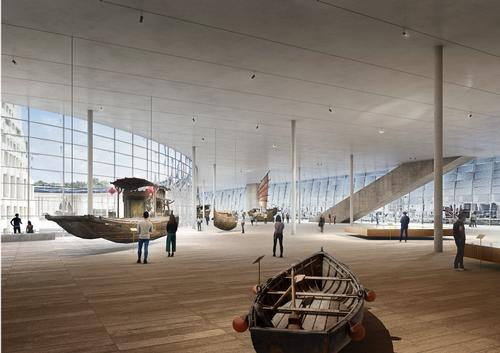 The museum will offer both a cultural programme and panoramic views of the surrounding areas / Herzog & de Meuron