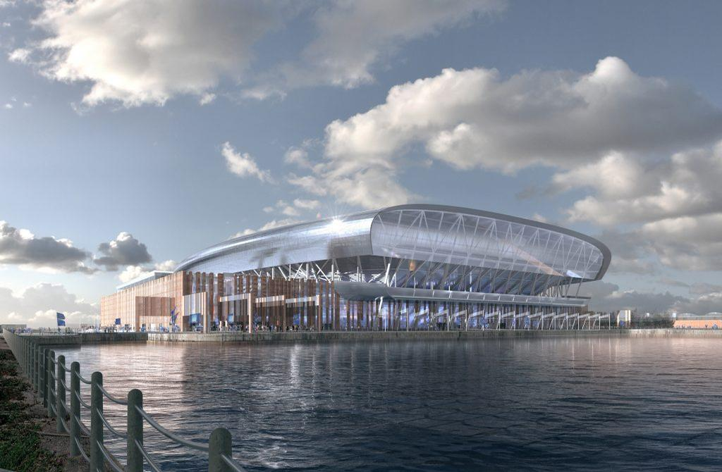 The design of the stadium is inspired by the historic maritime and warehouse buildings nearby / Dan Meis