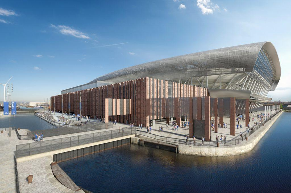 Everton Fc Reveals Final Dan Meis Designs For New Riverside Stadium Architecture And Design News Cladglobal Com
