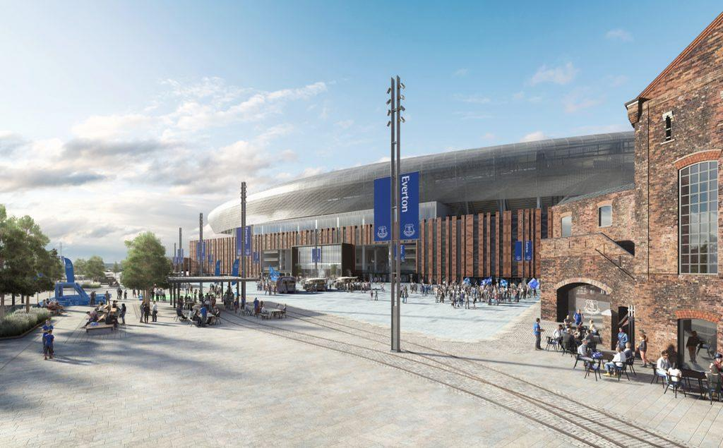 The multi-storey car park will now be integrated into the stadium / Dan Meis