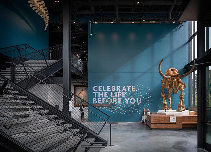 The new museum was designed by Olson Kundig / Olson Kundig / Aaron Leitz