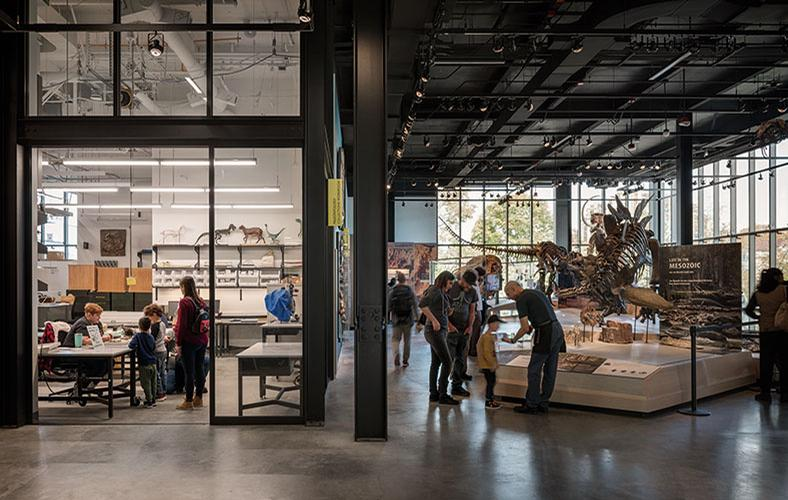The design has broken down traditional museum barriers between public and back-of-house spaces / Olson Kundig / Aaron Leitz