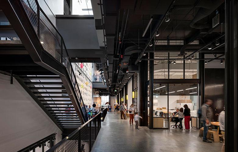 Collections and research labs are now integrated with galleries / Olson Kundig / Aaron Leitz