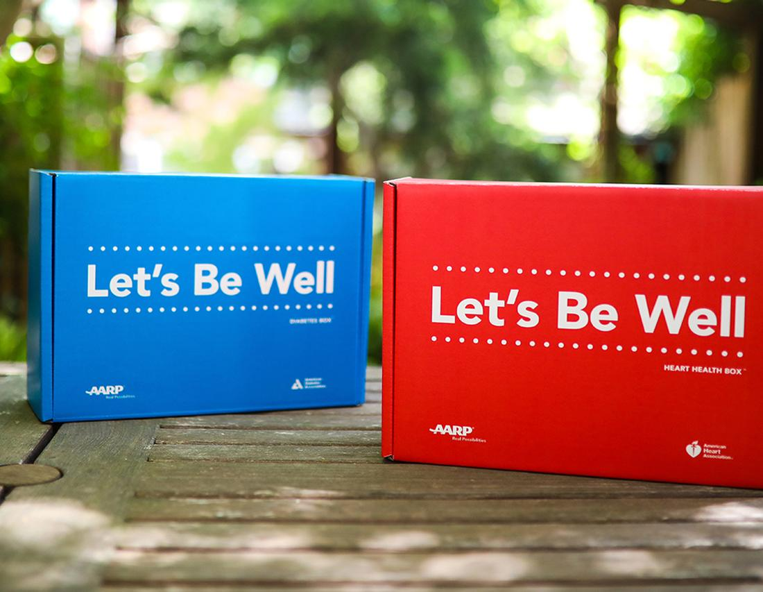 Among the companies to exhibit wellness-related age-tech this year is AARP / AARP