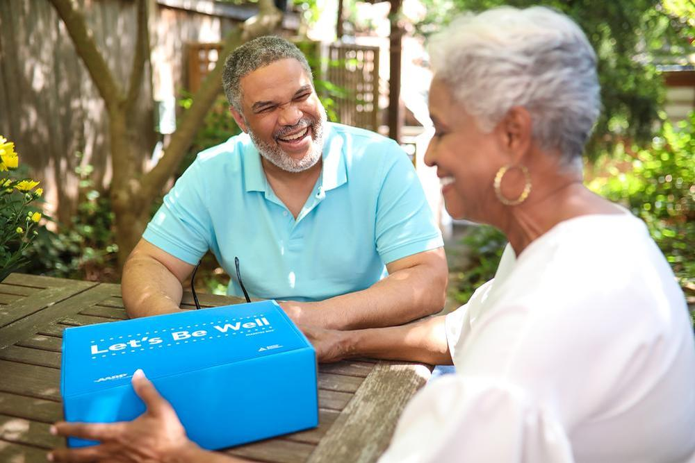 Let's Be Well gives practical tools, products and resources to get people started on their path to wellness after diagnosis. / AARP