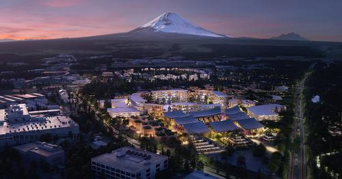 Woven City will cover 175ac (71ha) at the base of Mount Fuji in Japan / Toyota / Bjarke Ingels Group