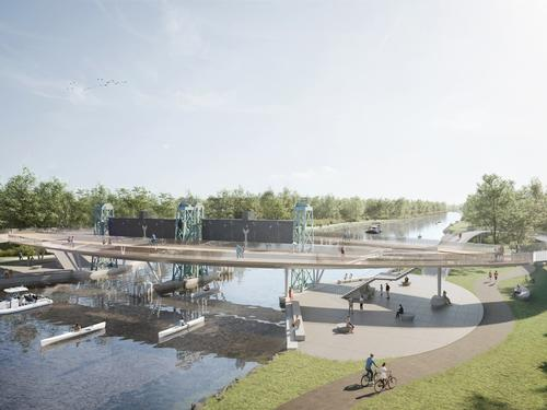 Communities around the river will be better connected, with new infrastructure like bridges being installed / BuroHappold