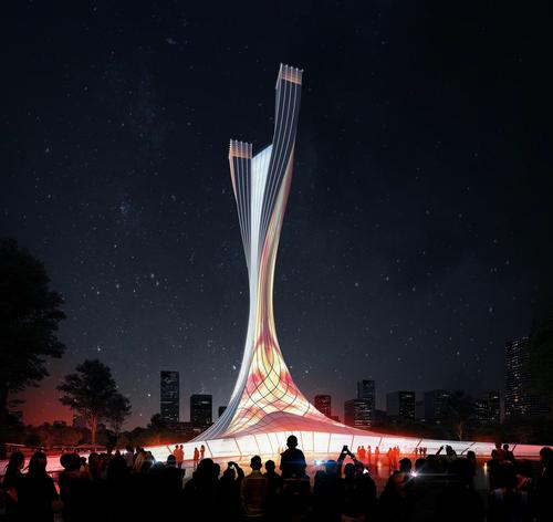 It is hoped the monument will attract tourists from around the world / RMJM Shanghai