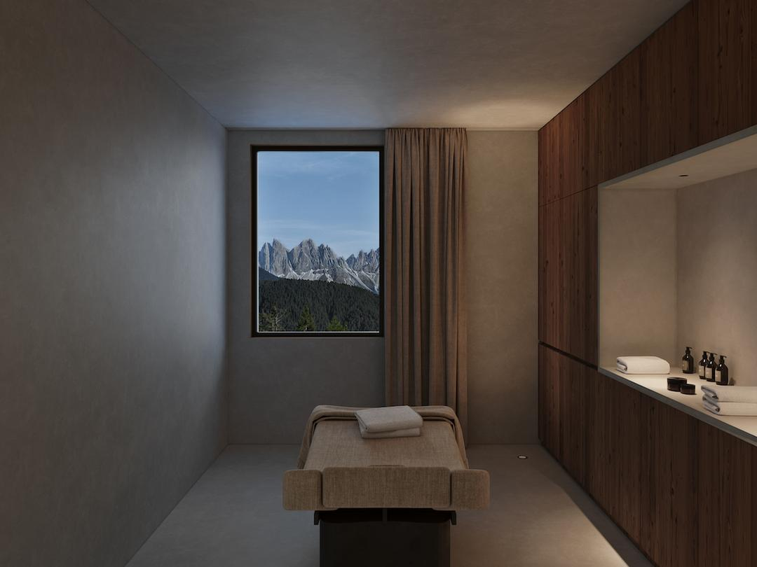 Nature will also play a key role in the design and offer of the Forestis Spa / Forestis