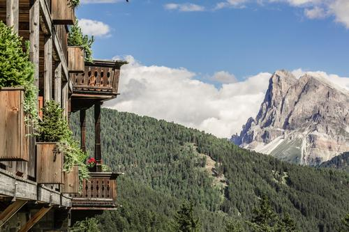 Forestis is located in a historic building near Brixen in the UNESCO World Heritage-listed Dolomites / Forestis