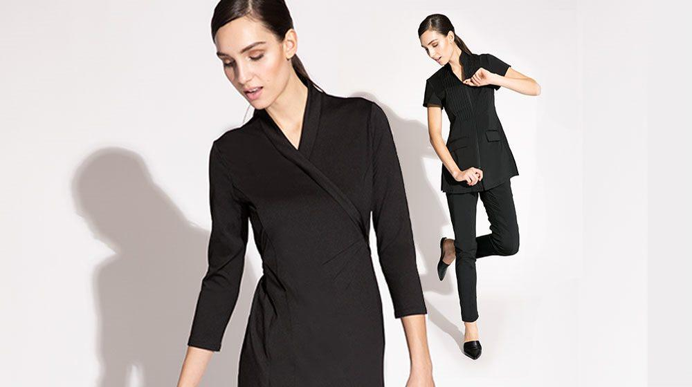 Noel Asmar has recently launched a collection of uniforms made from recycled plastic