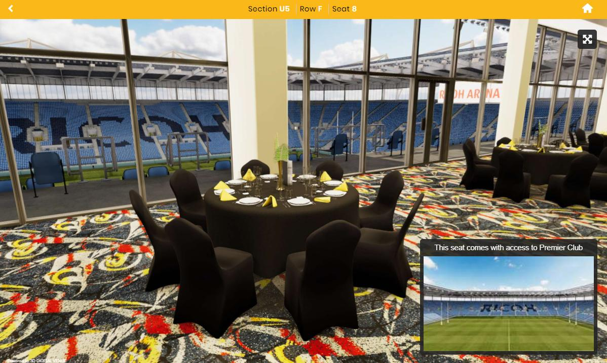 The new technology, provided by the club's ticketing partner AXS, will enable fans to experience a 360-degree, 3D view of all of the Wasps' hospitality suites before making their booking