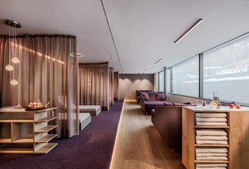 Relaxation rooms provide a place for guest to rest and reflect