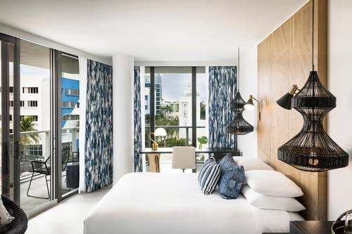 Accommodation includes are one-, two- and three-storey guest rooms and suites