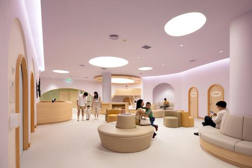 The design is aimed at making the experience of being in hospital less daunting, more comfortable and much more fun for children / Ketsiree Wongwan
