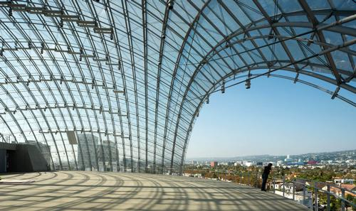 Visitors will be able to take in views of the Hollywood Hills and iconic Hollywood sign / Renzo Piano Building Workshop