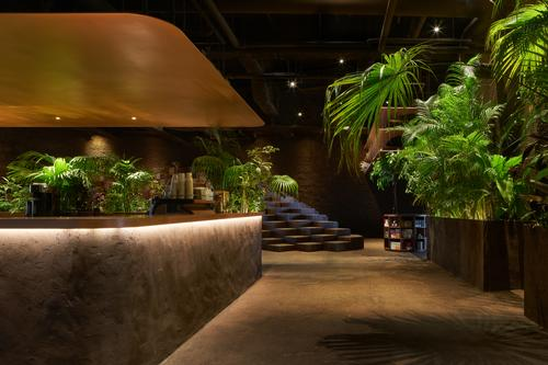 The venue combines fine-dining and all-day dining restaurants / Daici Ano