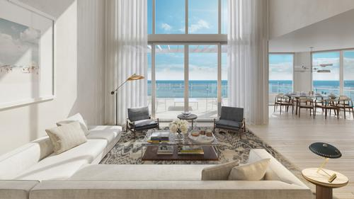Other residences will range in size from one to four bedrooms and from 780sq ft (72sq m) to more than 6,000sq ft (560sq m) / Four Seasons
