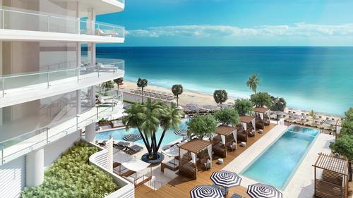 The development has been designed by architect Kobi Karp with interiors by Tara Bernerd to