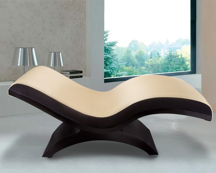Uniting form and function, Living Earth Crafts' Ella™ Wave Lounger raises the bar for personal relaxation spaces and stylish design