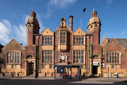 The baths are housed in a Grade II listed building / Historic England