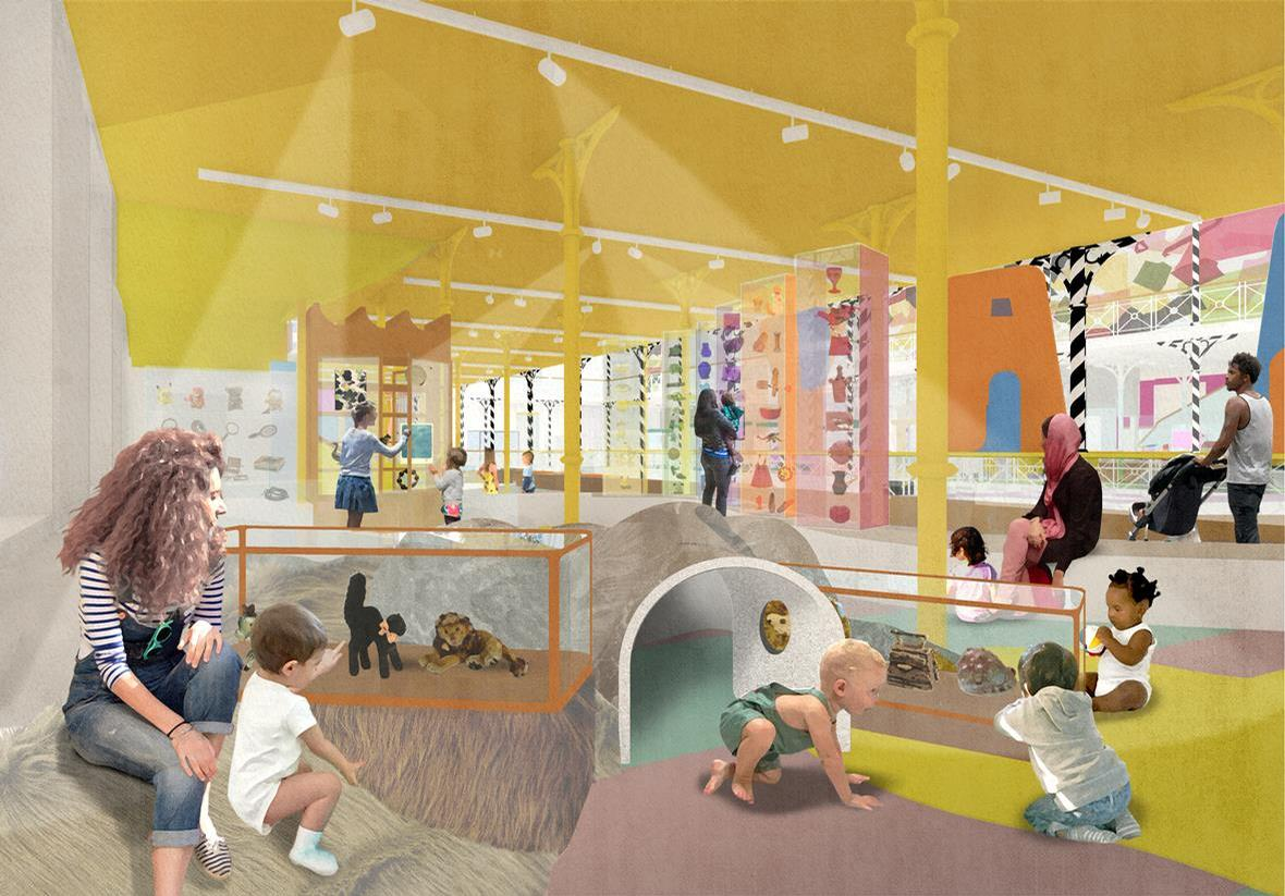 Exhibits will be shown amongst a playful multi-sensory environment / V&A Museum of Childhood