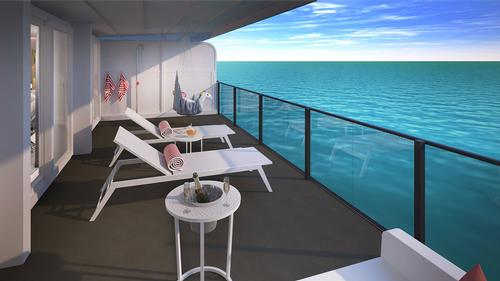 93 per cent of Virgin Voyages cabins will feature an ocean view / Virgin Voyages