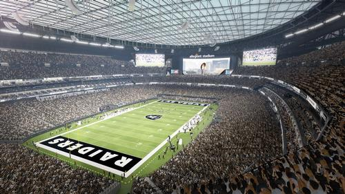 There will be a seating capacity of 65,000, which it will be possible to increase to 72,000 for Super Bowl events / Manica