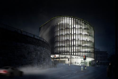 It will have a total of 12 storeys / Bjarke Ingels Group
