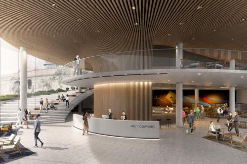 It will be BIG's first UK project outside of London / Bjarke Ingels Group