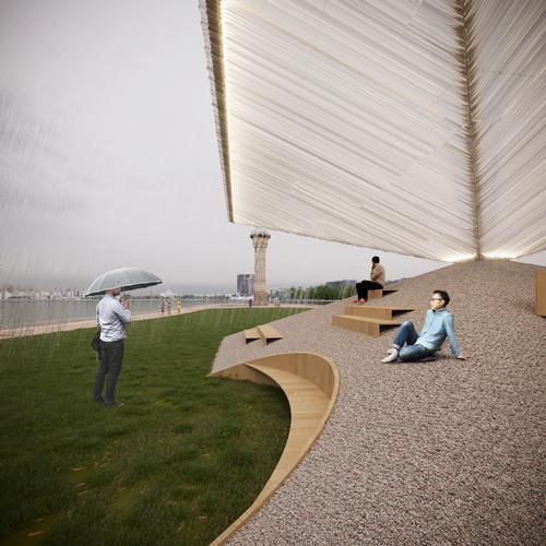 Repose Pavilion by Parsa Khalili