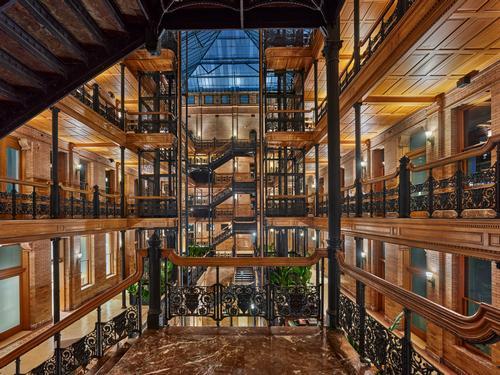 The Bradbury Building was constructed in 1893 / Nikolas Koenig