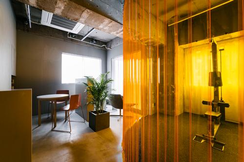 Simple furnishings and plants give a sense of a more day-to-day world / Toshiyuki Udagawa